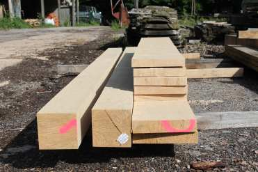 oak beam, pasts and planks