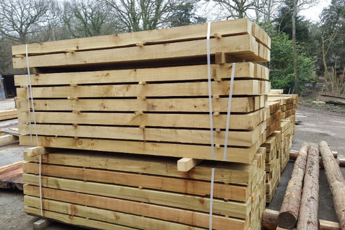 Sawmill and Timber Suppliers West Sussex | Balcombe Estate